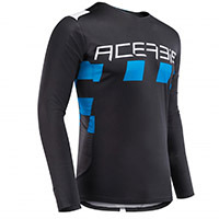 Acerbis Checkmate Jersey Black Blue