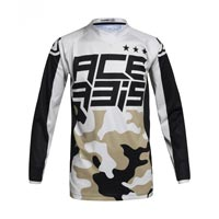 Acerbis Mx Desert Storm Kid Jersey Camo Brown Kinder