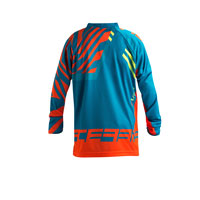 Acerbis Mx Fit Cross Kid Limited Edition Current Available Jersey 2018 Arancio Blu Bimbo