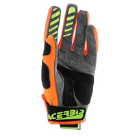 Acerbis Mx 2 Gloves Fluo Yellow-fluo Orange