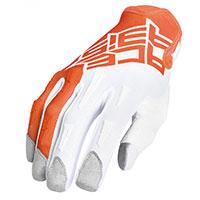 Gants Acerbis Mx Xp Orange Blanc