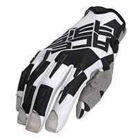 Acerbis Mx Xp Gloves Black White