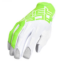 Gants Acerbis Mx Xp Vert Blanc