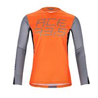 Camiseta Acerbis Mx J-Race naranja gris