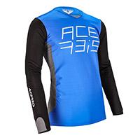 Camiseta Acerbis Mx J-Race azul blanco