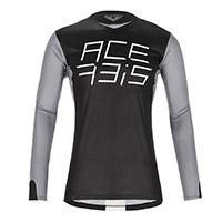 Camiseta Acerbis Mx J-Race negro gris