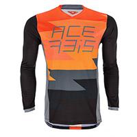Camiseta Acerbis Mx J-Team naranja negro