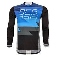 Camiseta Acerbis Mx J-Team azul negro
