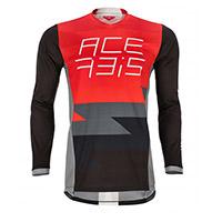 Camiseta Acerbis Mx J-Team rojo negro