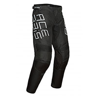 Acerbis Mx Track Kid Pants Black Kid