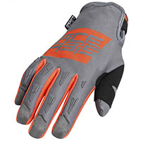Acerbis Mx Wp Gloves Orange Grey