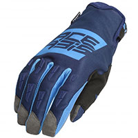Acerbis Mx Wp Gloves Blue