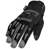 Acerbis Mx Wp Gloves Grey Black