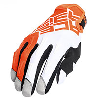 Acerbis Mx Xh Gloves Orange White