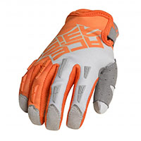 Acerbis Mx Xk Kid Gloves Orange Grey Kid