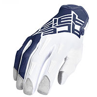 Acerbis Mx Xk Kid Gloves Blue White Kinder