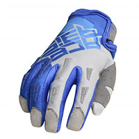 Acerbis Mx Xk Kid Gloves Blue Grey Kid