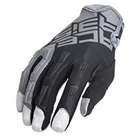 Acerbis Mx Xk Kid Gloves Grey Black Kid