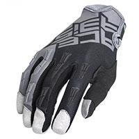 Acerbis Mx Xk Kid Gloves Grey Black Kinder