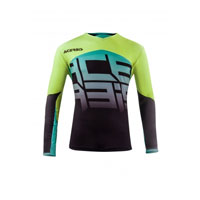 Acerbis Omega X-flex Black And Yellow Fluo Jersey 2018