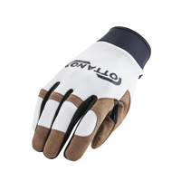 Gants Acerbis Ottano 2.0 Blancs Marron