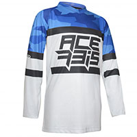 Acerbis Skyhigh Kid Offroad Jersey Blue Kid