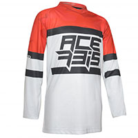 Acerbis Skyhigh Kid Offroad Jersey Red Kid