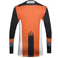Acerbis Track Jersey Black Orange