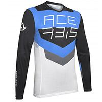 Acerbis Track Jersey Black Blue