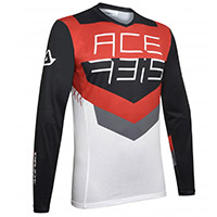Acerbis Track Jersey Black Red