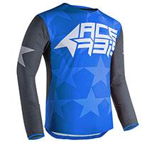 Maillot Offroad Acerbis X-flex Bleu Gris