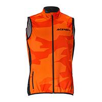 Acerbis Softshell X-wind Vest Orange Black