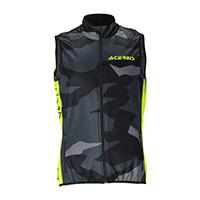 Acerbis Softshell X-wind Vest Black Yellow