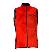 Acerbis Softshell X-wind Vest Red