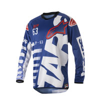 Alpinestars Racer Braap Jersey 2018 Blu