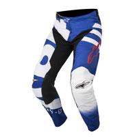 Alpinestars Racer Braap Pantaloni 2018 Blu
