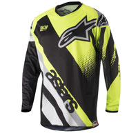 Alpinestar Racer Supermatic Jersey 2018 Giallo Fluo
