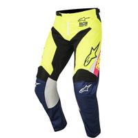 Alpinestars Racer Supermatic Pantaloni 2018 Giallo Fluo