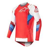 Alpinestar Supertech Jersey 2019 Rosso Bianco