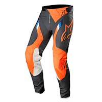 Alpinestar Supertech Pants 2019 Antracite Arancio Fluo