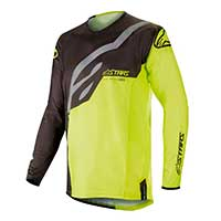 Alpinestar Techstar Factory Jersey 2019 Black Yellow Fluo