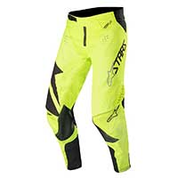 Alpinestars Techstar Factory Pants 2019 Nero Giallo Fluo