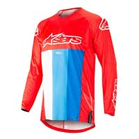 Alpinestar Techstar Venom Jersey 2019 Red White Blue