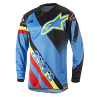 Alpinestars Youth Racer Supermatic Jersey 2018 Aqua Bimbo