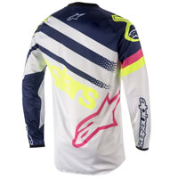 Alpinestars Youth Racer Supermatic Jersey 2018 Bianco Bimbo