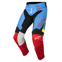 Alpinestar Youth Racer Supermatic Pantaloni 2018 Aqua Bimbo