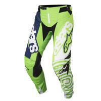 Alpinestar Youth Racer Venom Pantaloni 2018 Verde Fluo Bimbo
