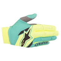 Alpinestars Aviator Gloves Yellow Fluo Green 2018