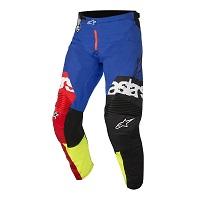 Alpinestars Pantaloni Racer Flagship Blu Rosso Giallo