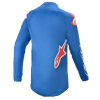 Maillot Alpinestars Fluid Speed 2021 Bleu